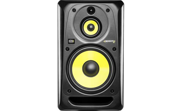 KRK ROKIT 10 G3 Separate amps power woofer, midrange, and tweeter for maximum accuracy.