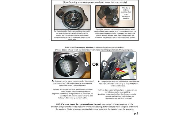 Select Increments JKU-Pods Installation Instructions: page 2