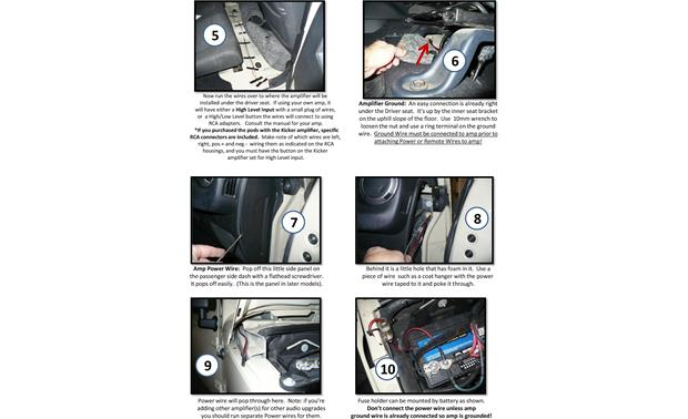 Select Increments JKU-Pods Installation Instructions: page 8