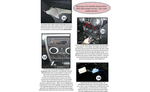 Select Increments JKU-Pods Installation Instructions: page 9