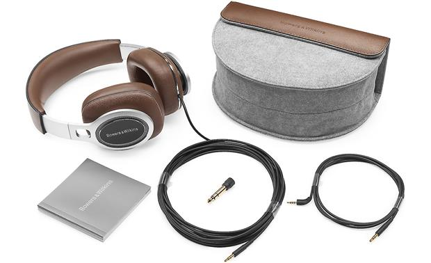 Bowers & Wilkins P9 Signature (Factory Recertified) Included cables and accessories