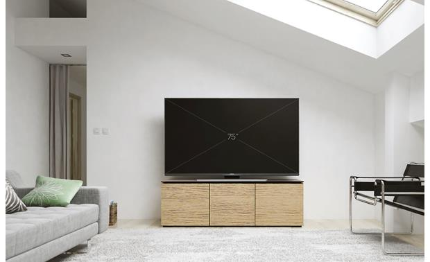 Salamander Designs Chameleon Collection Denver 237 Natural Oak - stores 6 components (TV not included)