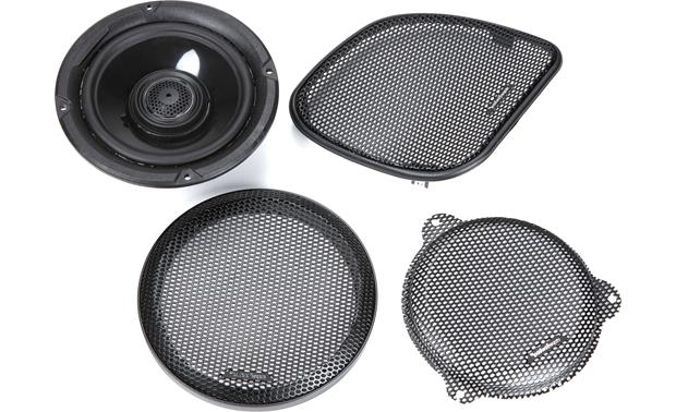Rockford Fosgate HD14-TKIT Grilles included
