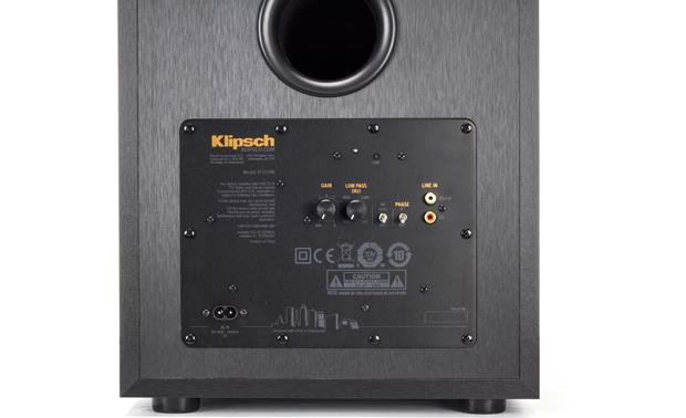 Klipsch Reference R-10SWi Rear-panel controls