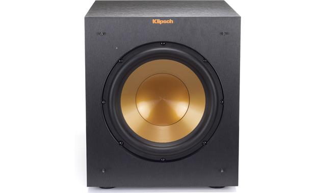 Klipsch Reference R-10SWi Front, grille removed