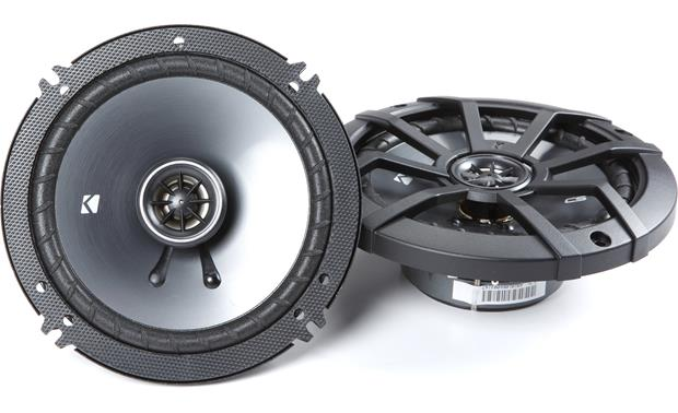 Kicker 43CSC654 Power these with a factory stereo, an aftermarket stereo, or an external amp.