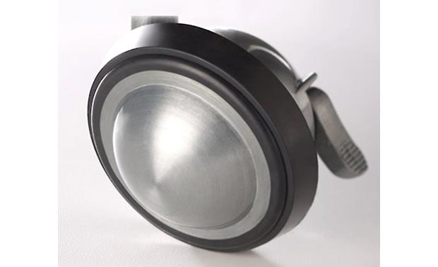Salamander Designs Saturn Casters Brushed aluminum