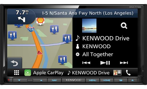 Kenwood DNX773S Front