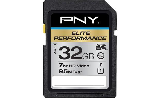 PNY Elite Performance SDHC Memory Card Front