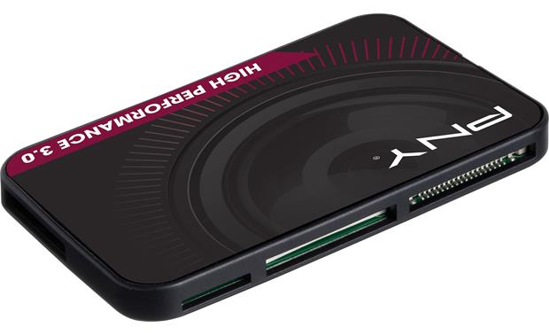PNY High Performance USB 3.0 Card Reader Front