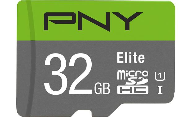 PNY Elite microSDHC Memory Card Front
