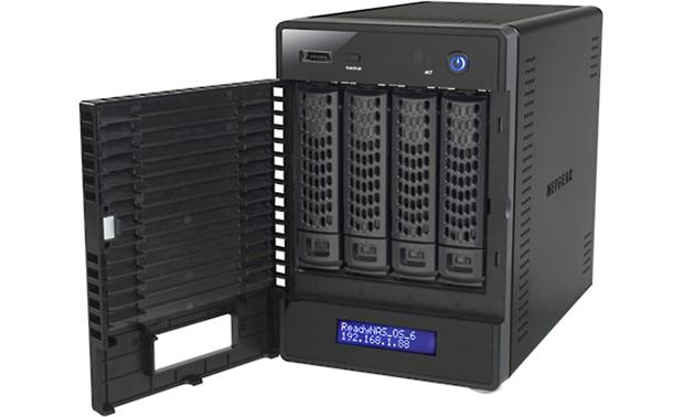 Netgear RS214 Network Attached Storage Secure storage and