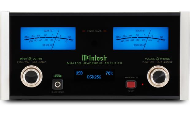 McIntosh MHA150 Illuminated glass-front panel