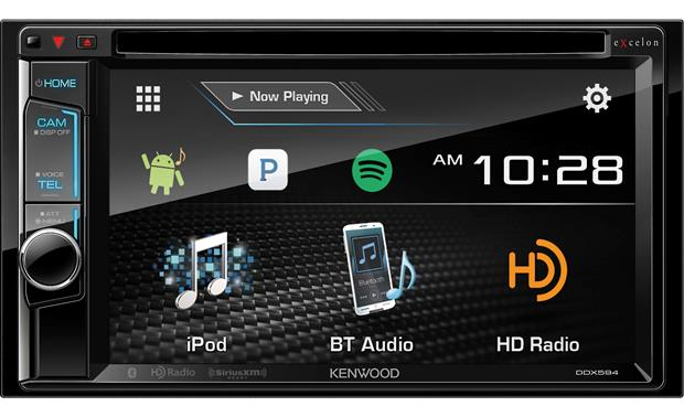 Kenwood Excelon DDX594 Get crystal-clear wireless sound using Bluetooth with aptX