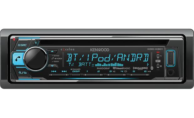 kenwood excelon kdc-x301 this kenwood excelon offers bluetooth, internet  radio, and siriusxm