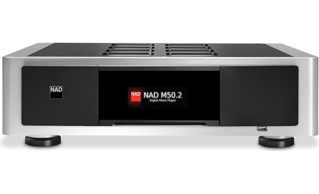 NAD Masters Series M50.2 Control music playback via Bluesound app or the unit's  touch-panel display