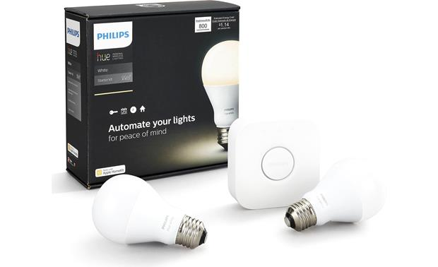Philips Hue White A19 Starter Kit Front