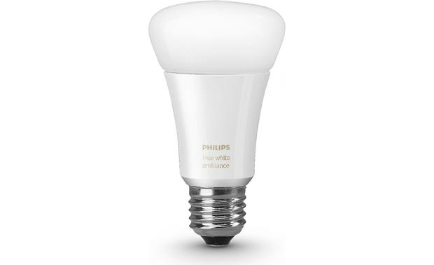 Philips A19 Hue White Ambiance Single Bulb Front