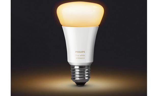 Philips A19 Hue White Ambiance Single Bulb Change your light's temperature from your phone