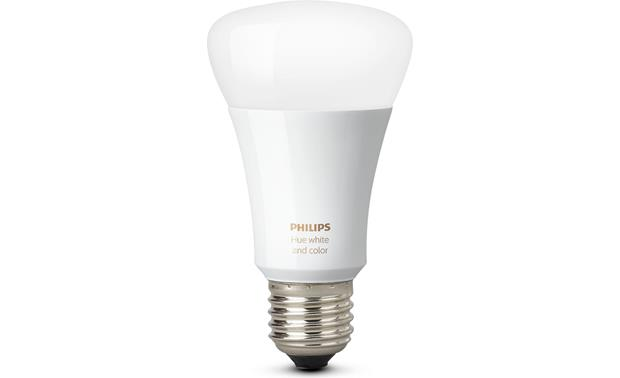 Philips Hue A19 White and Color Ambiance Bulb Front