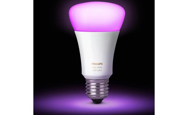 Philips Hue A19 White and Color Ambiance Bulb Choose from 16 million colors