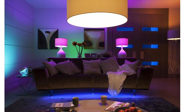 Philips Hue A19 White and Color Ambiance Bulb Match your lighting to any mood or event