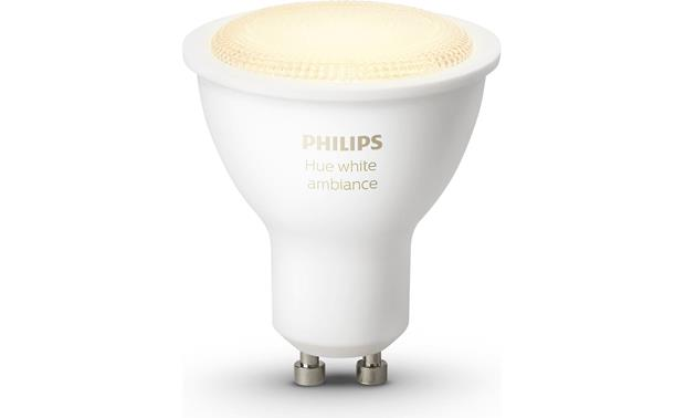 Philips GU10 Hue White Ambiance Bulb Front