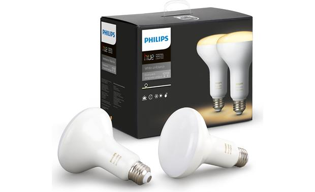 Philips Hue BR30 White Ambiance Bulbs Front
