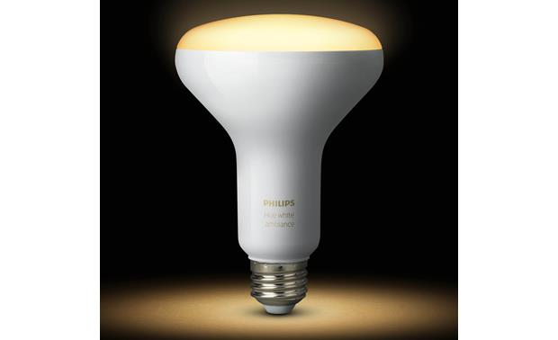 Philips Hue BR30 White Ambiance Bulbs Control your smart bulb from your phone or tablet