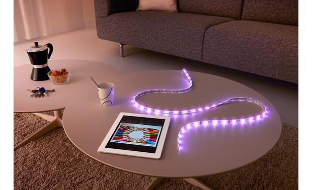 Philips Hue LightStrip Plus Enjoy flexible placement options