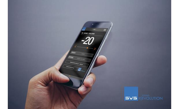 SVS PB16-Ultra Adjust sound with the free SVS smartphone app