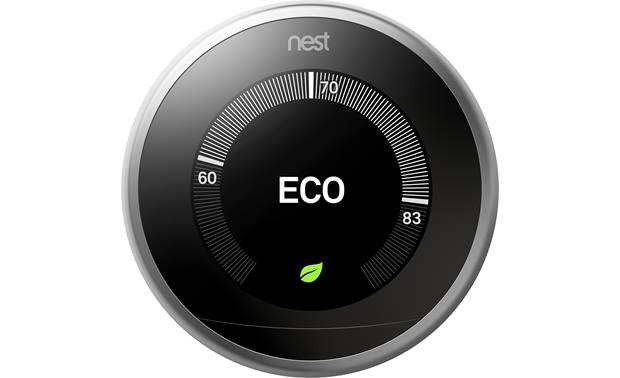 Nest Learning Thermostat, 3rd Generation Eco Temperatures mode helps you save energy