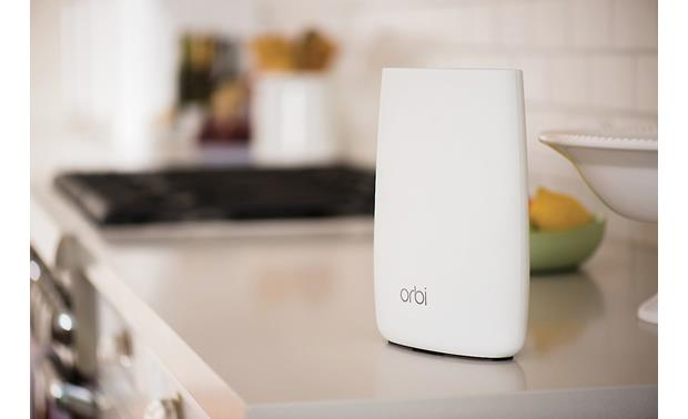 NETGEAR Orbi AC3000 Tri-band Wi-Fi® Satellite (RBS50) Place your Orbi satellite in a central location and enjoy seamless Wi-Fi as you roam through the house