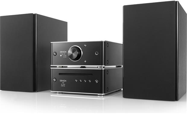 Denon DCD-50 Shown with PMA-50 integrated amp and bookshelf speakers (not included)