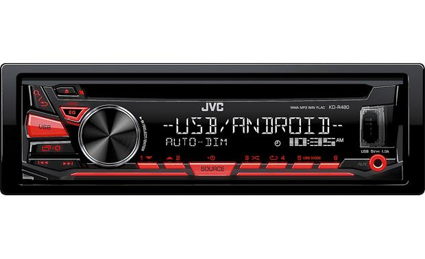 jvc kd r480 cd receiver at crutchfield com rh crutchfield com JVC Car Stereo ManualDownload JVC Car Stereo CD Players
