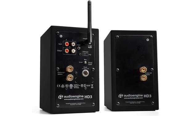 Audioengine HD3/Pro-Ject Debut Carbon/Phono Box DC Bundle Analog and digital connections, plus Bluetooth for wireless streaming