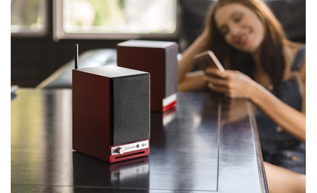 Audioengine HD3 Pair with your Bluetooth-enabled device from up to 100 feet away