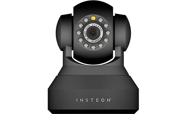 INSTEON HD Wi-Fi® Camera (Black) Wireless indoor pan-tilt ...
