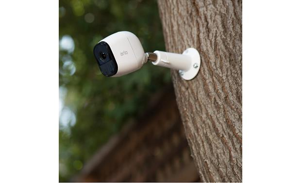 Arlo Pro Home Security Camera System Included hardware gives you multiple mounting options