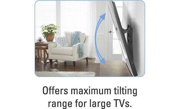 Sanus VLT6 Full tilt for virtually any compatible TV