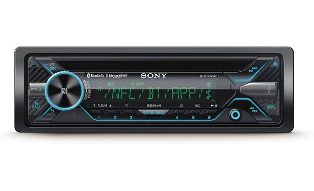 Sony MEX-N5200BT Sony's MEX-N5200BT offers outstanding smartphone capabilities