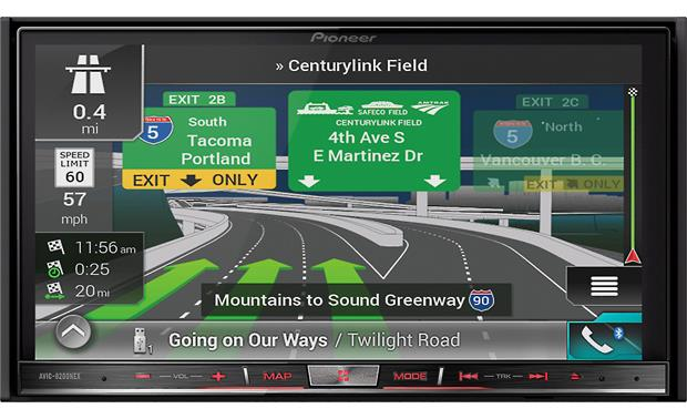 Pioneer Avic 8200nex Navigation Receiver At Crutchfield Com