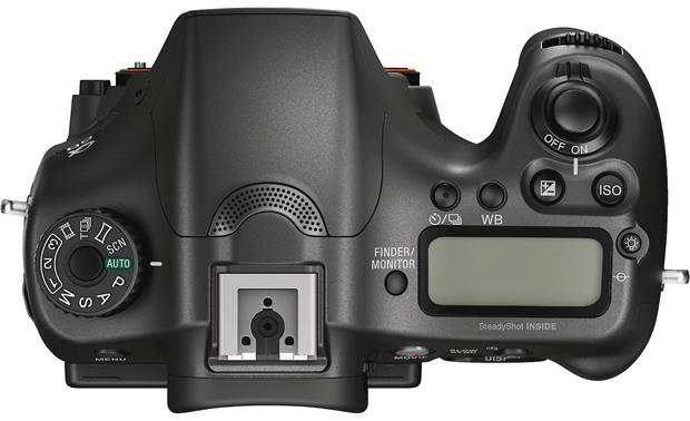 Sony Alpha a68 (no lens included) Top