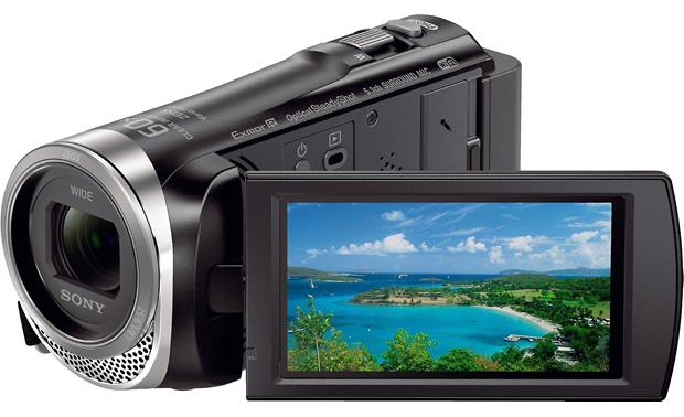 Sony Handycam® HDR-CX455 Front