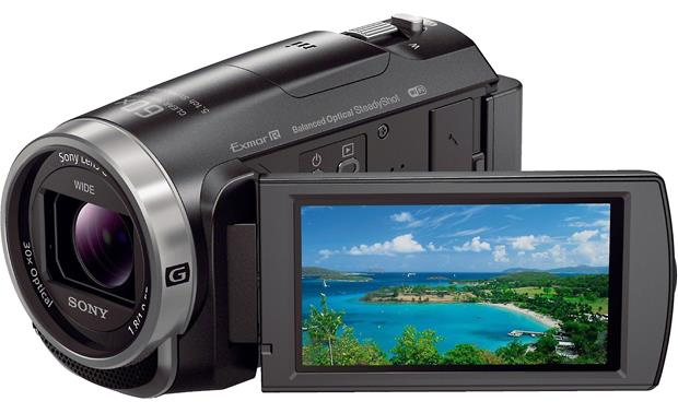 Sony Handycam® HDR-CX675 Front