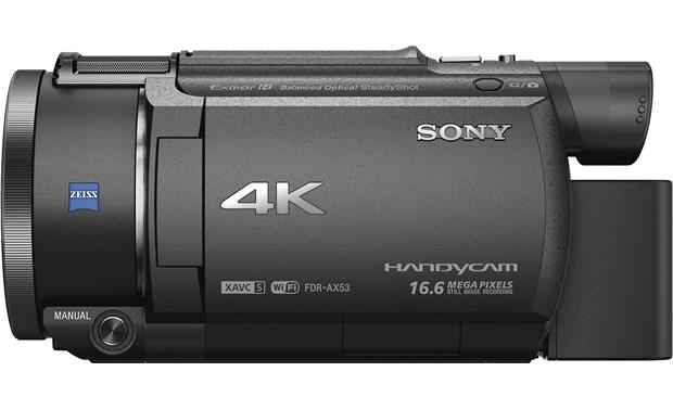 Sony Handycam® FDR-AX53 Left side