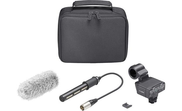Sony XLR-K2M Shown with included accessories