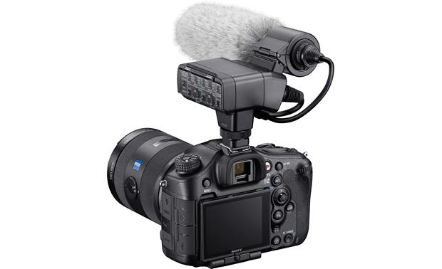 Sony XLR-K2M Shown mounted on a camera (not included)