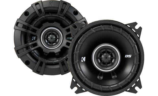 Kicker 43DSC404 The slim profile design of Kicker's DS Series makes these speakers a fit for more vehicles