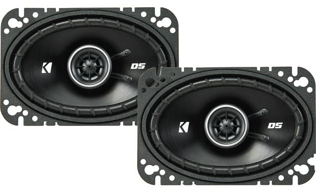 Kicker 43DSC4604 The slim profile design of Kicker's DS Series makes these speakers a fit for more vehicles